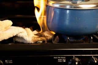 insurance for cooking fires
