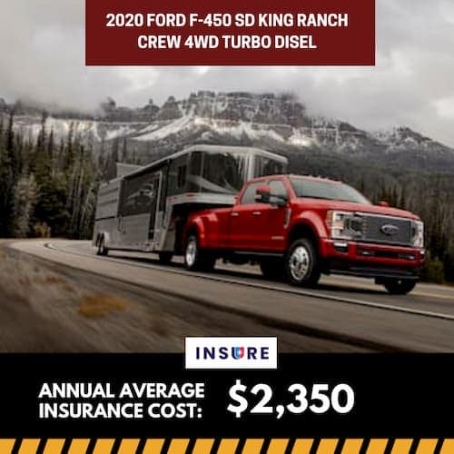 2020 Ford F-450 SD King Ranch Crew 4WD Turbo Diesel