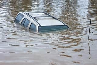 flood-damaged cars