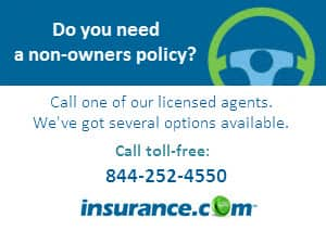 Non Owners Insurance Coverage For Drivers Who Don 39 T Own