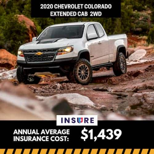 2020 Chevrolet Colorado Extended Cab 2WD