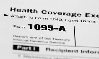 Health insurance tax form
