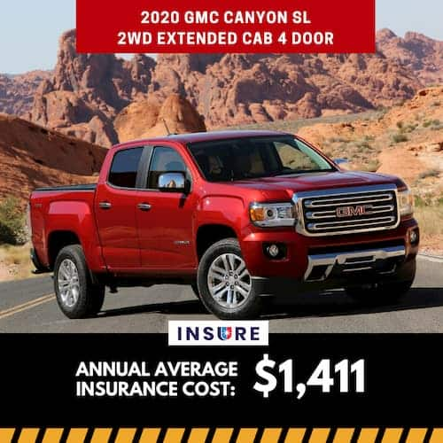 2020 GMC Canyon SL 2WD Extended Cab 4 door