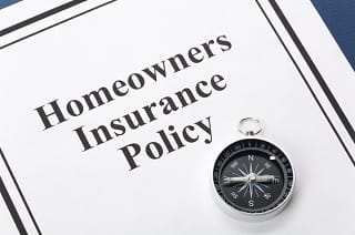 Home insurance policy jacket