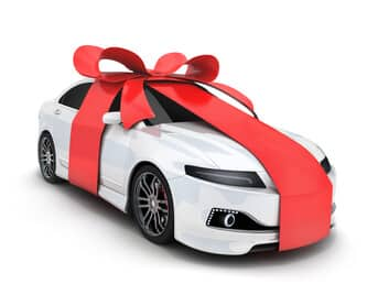 Giving a car as a gift