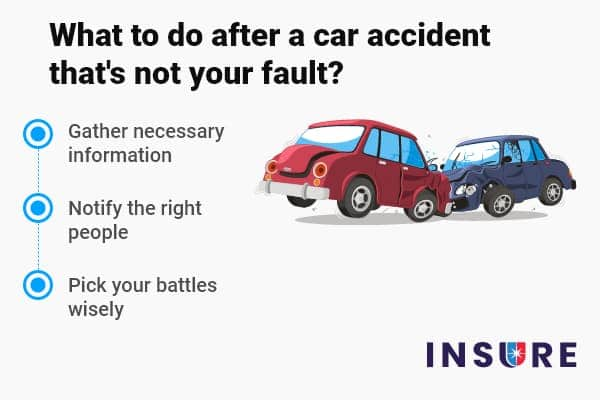 What To Do After A Car Accident That S Not Your Fault